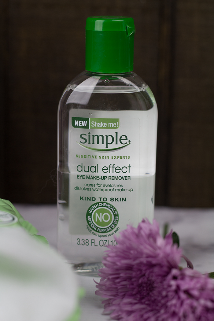 Simple Skin Care Dual Effect Eye Makeup Remover
