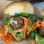 Pork Bahn Mi Sliders #GameTimeGrilling