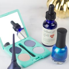 Hot Beauty Trends for Fall: Blue Hues