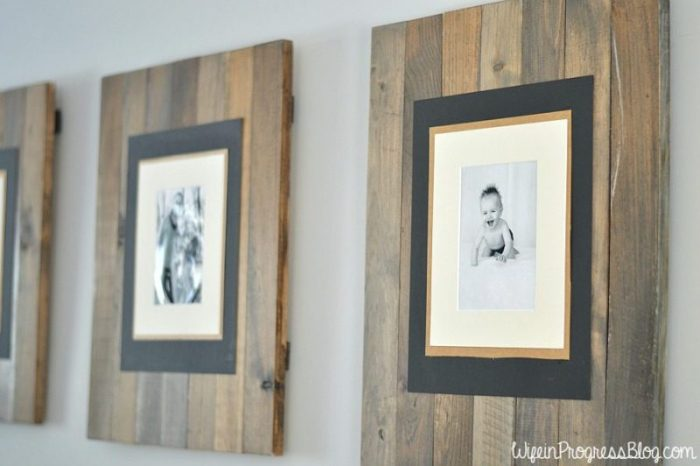 diy-rustic-weathered-pallet-frame