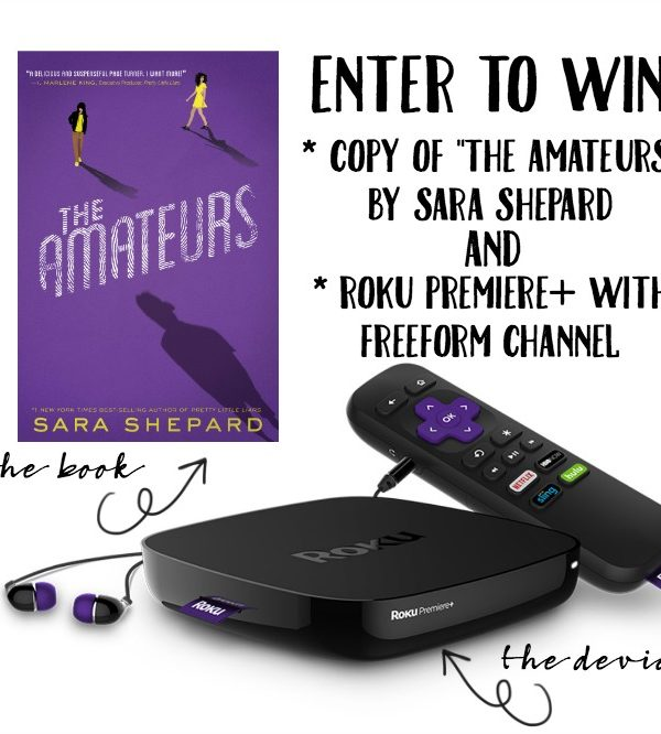 The Amateurs by Sara Shepard + Enter to Win Roku Premiere+ from Freeform Books