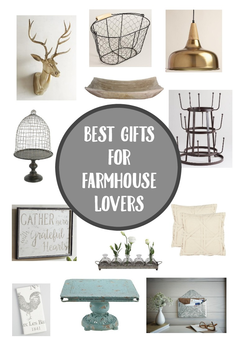 Have a Farmhouse Lover in your life? Check out these Farmhouse Lover Gift Ideas!