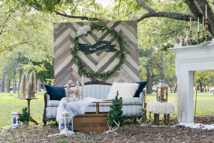 Looking for some new traditions with your holiday decor? Try this Woodland Wonderland theme! A perfect marriage of boho, vintage and classic holiday decor. (Rentals and Styling by Vintage Sparkle Rentals)