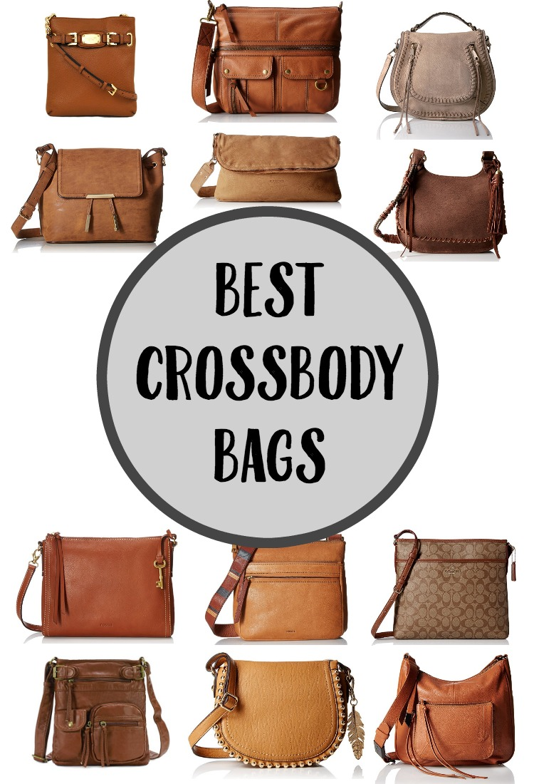 Looking for a crossbody bag? Look no further! I'm sharing some of my favorites. Crossbody bags make the perfect travel bag too!
