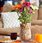 DIY Scrabble Tile Vase