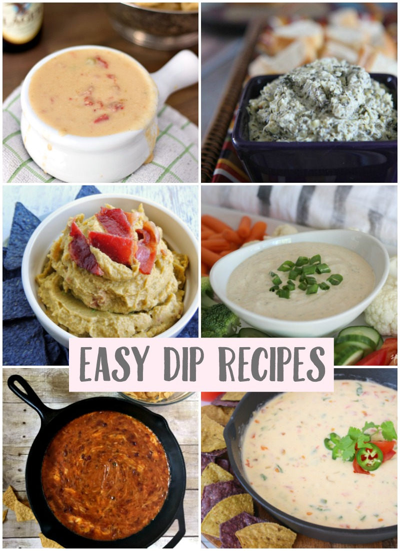 Easy dip recipes create crave taylor bradford for Easy tailgating recipes for a crowd