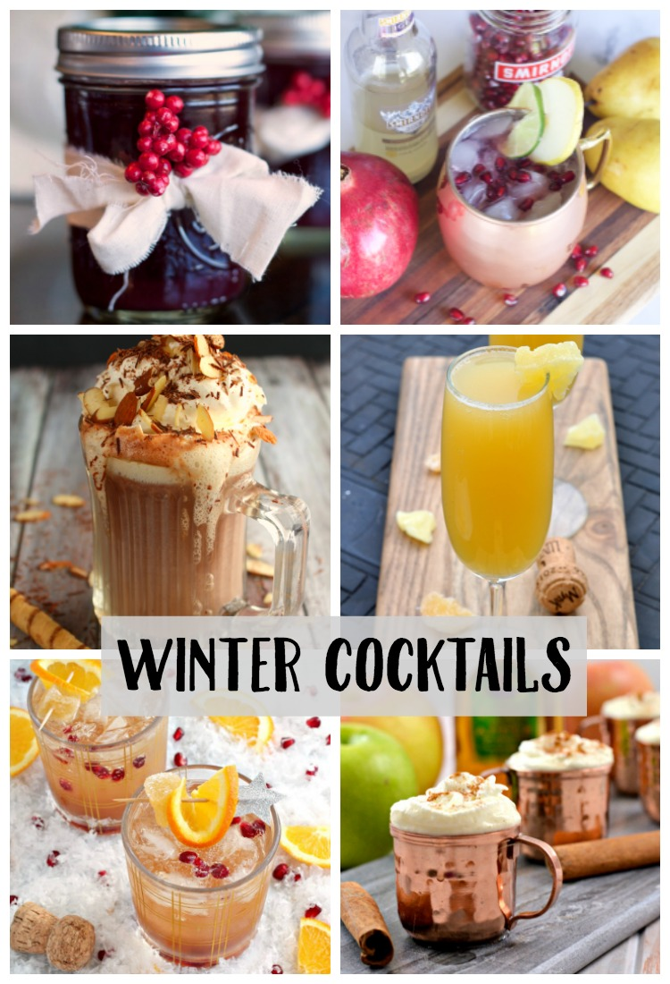 Looking for a new cocktail to try this winter? I've got a list of 10 yummy winter cocktail recipes with your name on them!