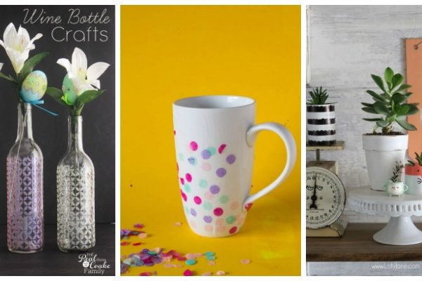 DIY Craft Ideas for Spring + Create & Crave