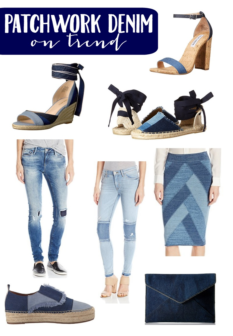 I can remember my mom owning a pair of patchwork denim jeans. And now the trend is back full circle! Check out some of my favorites!