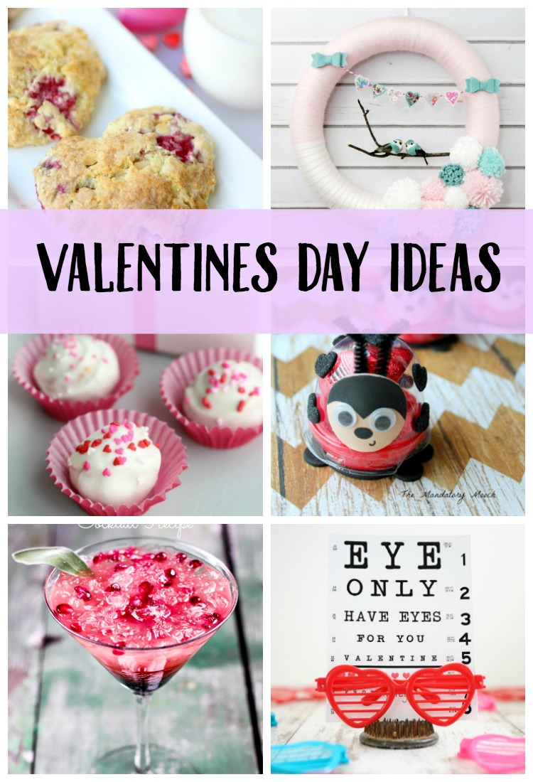 Needing some Valentine's Day Ideas? Look no further than this post. It's full of sweet treat ideas and DIY Printables for you and your kids!