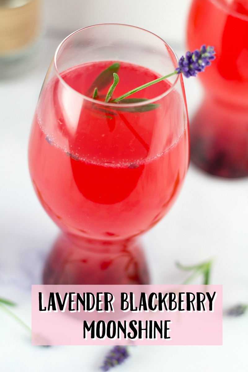 I've got your next favorite moonshine recipe here! Lavender, blackberries, homemade lemonade and moonshine all join together in sweet sophistication. Meet my Lavender Blackberry Moonshine Recipe.