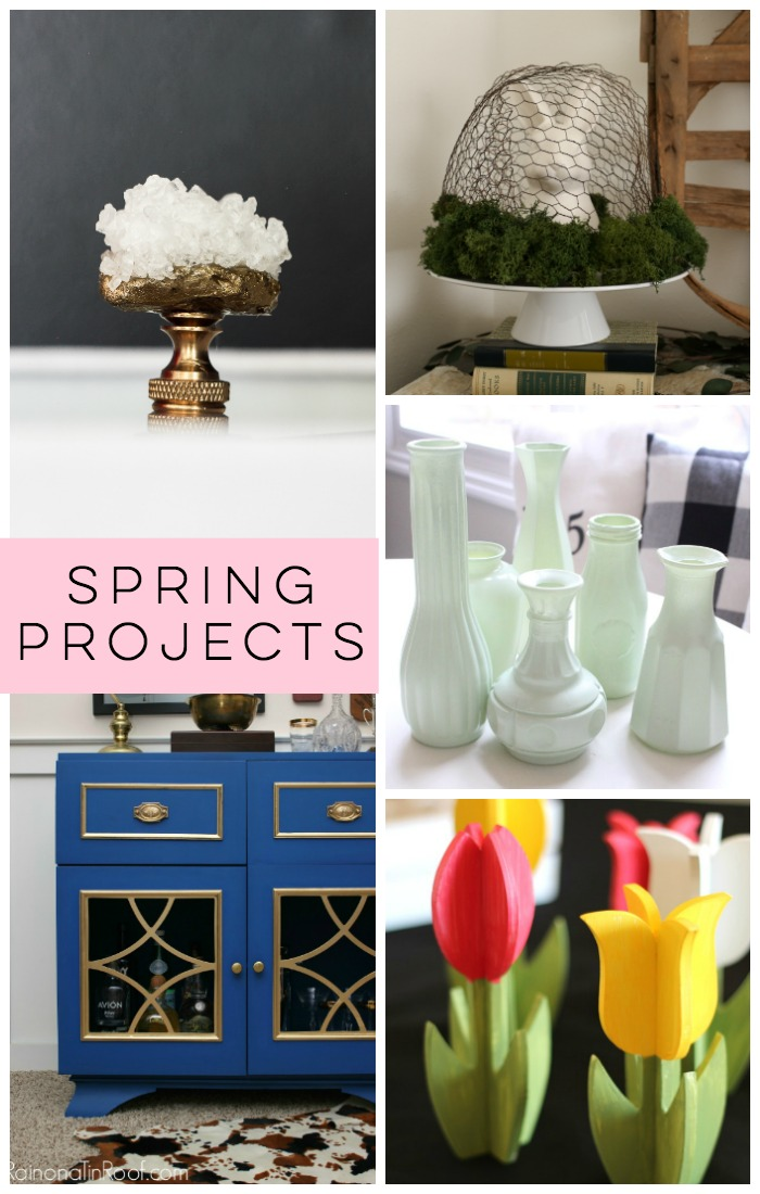 Time to bust out of those winter blues and get outside to enjoy some fresh air. Plus it's time to start tackling some of those Spring Projects you've been eyeing. Check out these Spring Projects to see if they'll make your list!