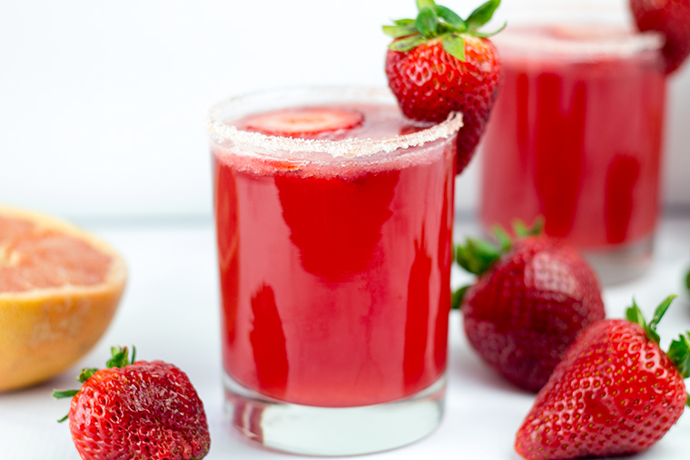 Strawberry Passion Paloma Moonshine 8