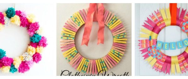 DIY Spring Wreaths Perfect for Your Front Door + Create & Crave