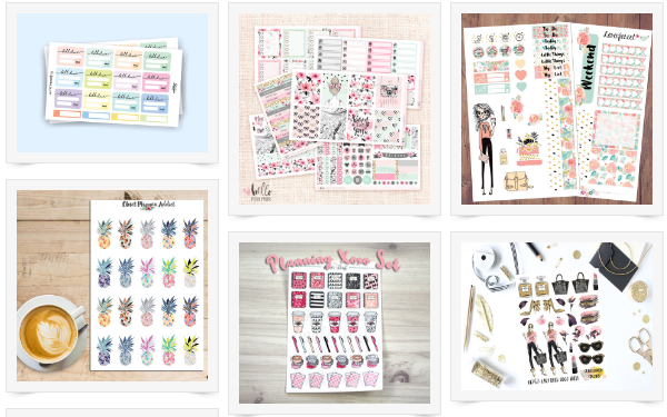 Must Have Planner Stickers