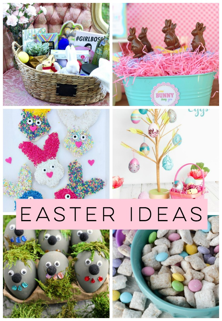 Needing some Easter Ideas? I've got Easter crafts, Easter treats, Easter decor, Easter baskets & more!